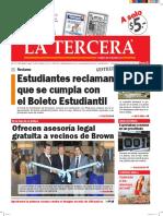 Diario La Tercera 18.04.2016