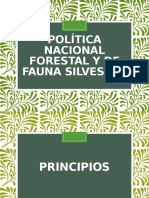 Política Nacional Forestal y De Fauna Silvestre - FINAL.pptx