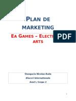 Plan de Marketing pentru EA