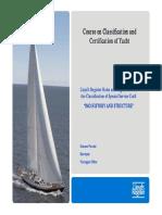 Corso Nautica IMO Structure