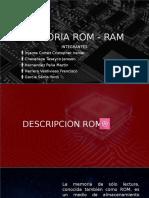 Memoria Rom - Ram