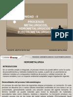Unidad- ELECTROOBTENCION