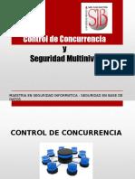 Control de Concurrencia y Seguridad Multinivel (1)