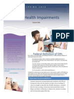 other health impairments