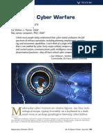 Air Force Cyber Warfare.