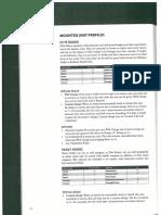 Dragon Rampant Unit Profiles