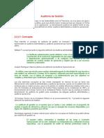Informacion Conceptual Auditoria Gestion