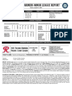 04.18.16 Mariners Minor League Report