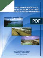 Propuesta Estandarizacion Geomorfologicos Caribe