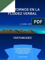 TRASTORNOS EN LA FLUIDEZ VERBAL.ppt