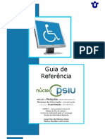 (Versão 1.0 - 2009) Guia de Referência  de Sites em Acessibilidade e Usabilidade UNIRIO