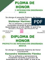DIPLOMA DE HONOR.ppt