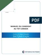 Manuel-candidat TEF CANADA 02-2016