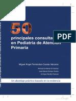 Las 50 Principales Consultas en Pediatr