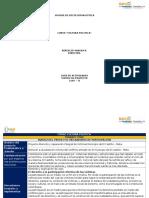 Matriz Del Proyecto - Mecanismos de Participacion