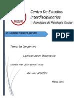 La Conjuntiva y Procesos de Inflamación Ocular