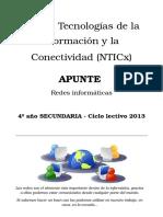 Apunte de NTICx -Redes Informáticas