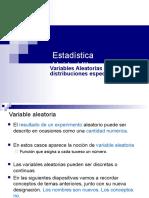 VARIABLES ALEATORIAS Y DIST ESPECIALES