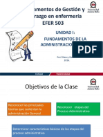 Clase 1 Proceso Administrativo UNAB