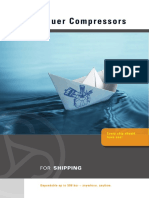Broschure Shipping en Web