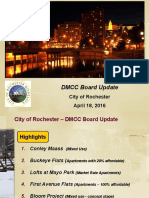 City project update to DMCC