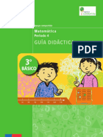 Guia Didactica 3basico Matematica Periodo4 Si
