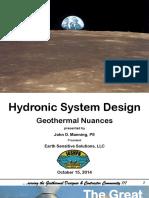 10 16 2014 0830 John Manning Hydronic System Design
