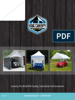 2015 King Canopy Product Catalog