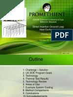 10 16 2014 1030 Charles Cauchy Direct Insertion Ground Loop Heat Exchanger