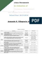 Evidenciary Documents