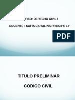 Titulo Preliminar Cc