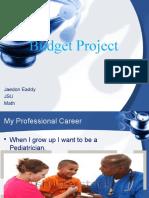 budget project jaedon