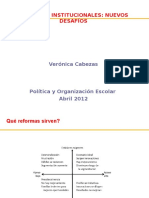 Clase Nueva Institucionalidad 2 2012