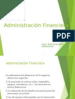 Conceptos Generales de Administración Financiera