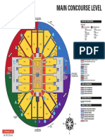 Main Concourse Food Map