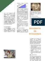 Biografia de Pitagoras