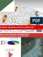 REPORTE INUNDACIÓN RÍO MAPOCHO