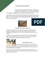 Asentamientos de Guatemala