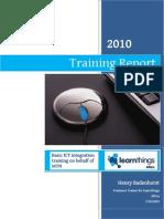 learnthings report khokhovela hp 20-23jul2010