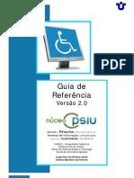 (Versão 2.0 - 2010) Guia de Referência  de Sites em Acessibilidade e Usabilidade UNIRIO