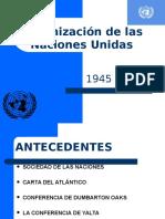 7 Organizacion de Las Naciones Unidas