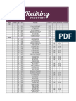 2016 Retiring List Annual Occasions - Www.cynthiascreativecorner.com
