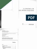 Anzieu Martin Libro 1971 La Dinamica de Los Grupos Pequenos