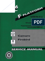 1996 Chevrolet Camaro & Pontiac Firebird Service Manual Volume 1