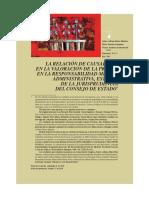 LA RELAC. DE CAUSALIDAD EN LA VALORAC. DE LA PRUEBA Derecho colombiano.pdf