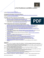 Exploring ePortfolios For Practitioners and ESOL Learners (Handout)