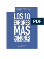 Los10ErroresmasComunesqueseComentenenFacebookMarketing