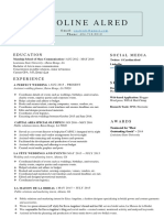 2016 cover letter and resume - campaigns
