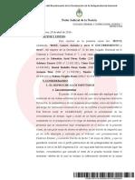 Fallo Casanello Preventiva Baez y Citacion Echegaray