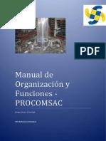 """Manual de Organizaciã""""n y Funciones de Procomsac"""